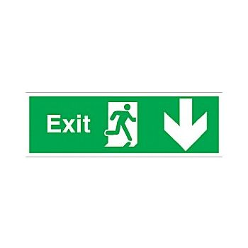 Exit Down Arrow £6 -
