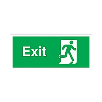 Exit Man Running Right £5 -