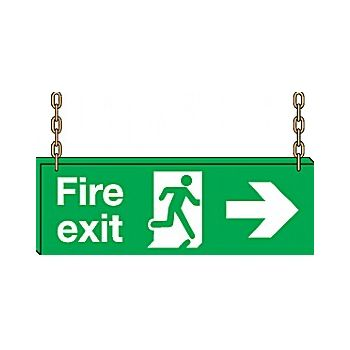 Doubled Sided Hanging Sign £26 -