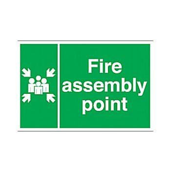 Fire Assembley Point Signs £6 -