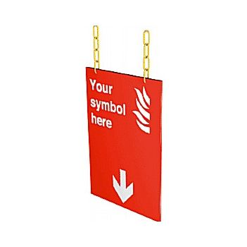 Doubled Sided Hanging PERSONALISED Sign £77 -