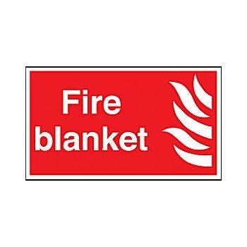 Fire Blanket Sign £3 -
