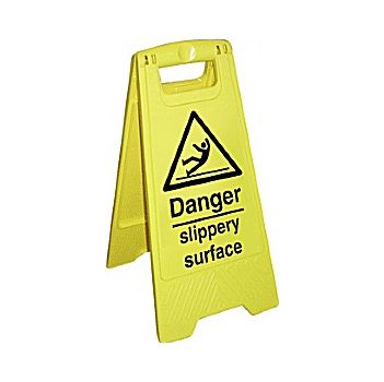 Danger Slippery Surface Floor Sign £9 -