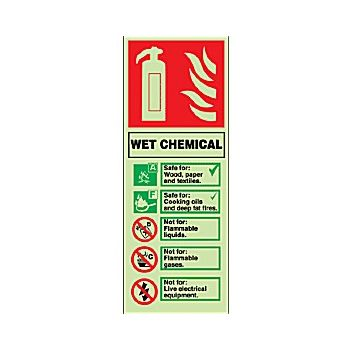 Wet Chemical Gemglow Sign £3 -