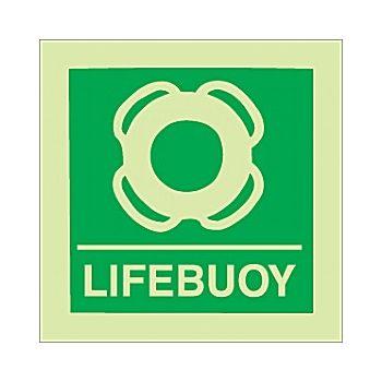Gemglow Lifebuoy Sign £2 -