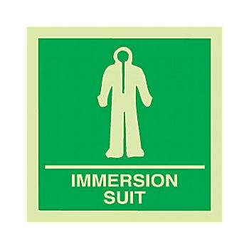 Gemglow Immersion Suit Sign £2 -