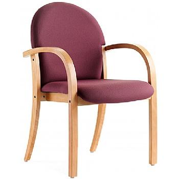 Rockingham Beech Stacking Chair