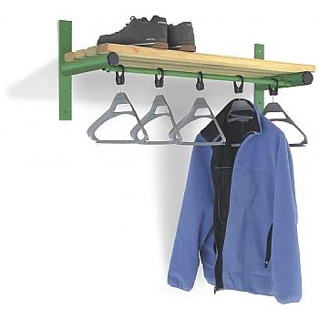 Wall Mounted Shelf & Rail