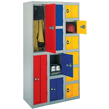 Stronghold Lockers With Biocote