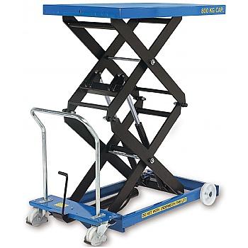 Britruck Double Scissor Lift Tables - Heavy Duty £2185 -