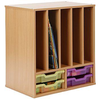 Storage Allsorts Big Book 4 Shallow Jelly Tray Unit £207 -