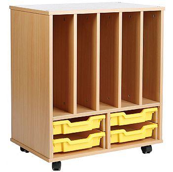 Storage Allsorts Big Book 4 Shallow Tray Unit £201 -