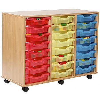 24 Tray Shallow Jelly Bean Storage £207 -