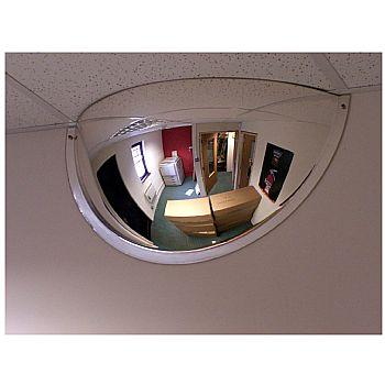 Interior Hemisphere Convex Half Face Mirror £78 -
