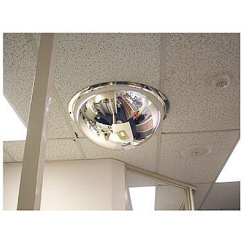 Interior Hemisphere 360° Ceiling Dome Mirror £138 -