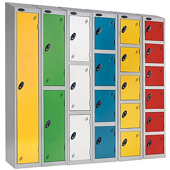 Premium Sloping Top Lockers With ActiveCoat £75 -