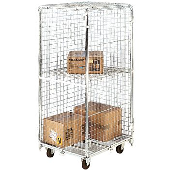 Demountable Security Mesh Rolcontainer