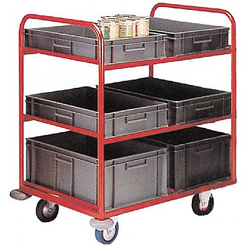 6 Tier Container Trolley
