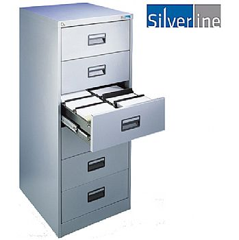 Silverline Card Index Filing Cabinets