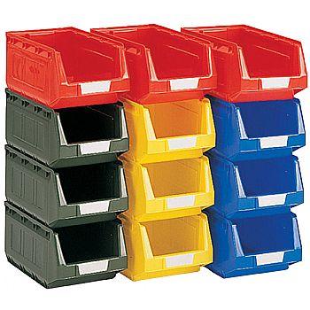 Bott Perfo Plastic Bin Kits - 12 Bins