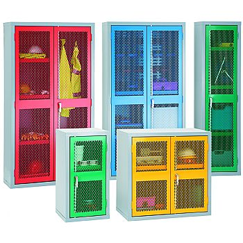 Mesh Door Cupboards