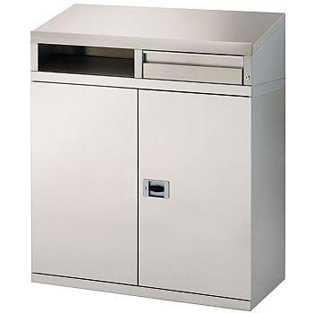 Stainless Steel Desk Cabinet