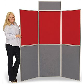 6 Panel Fold-Up Display Screen