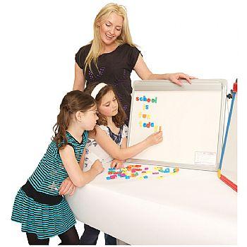 Little Rainbows Magnetic Whiteboard Easel