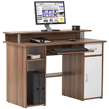Liberty Computer Desk Walnut