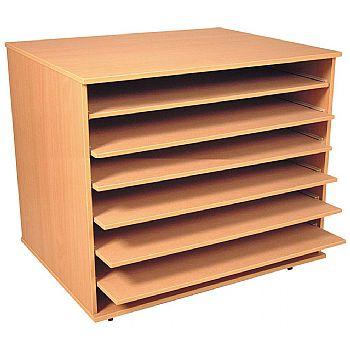 A1 Paper Shelf Storage Units