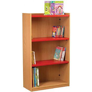 Nexus Library Starter Flat Top Bookcases
