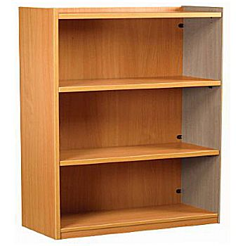 Nexus Library Add-On Flat Top Bookcases