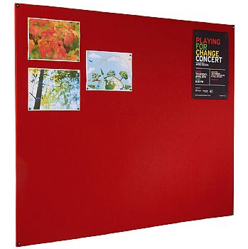 Frameless Felt Covered Noticeboard