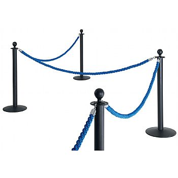 Rope And Pole Barrier System