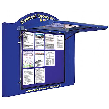 WeatherShield Wall Mounted Outdoor Signage