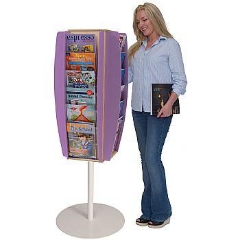 Freestanding Colourama Leaflet Dispenser