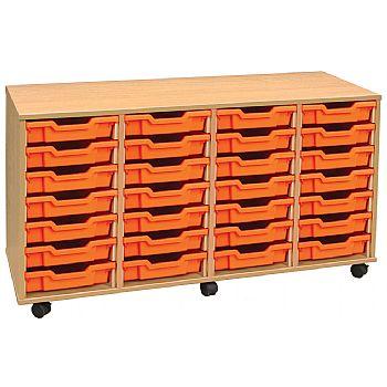 4store 28 Tray Shallow Storage Unit