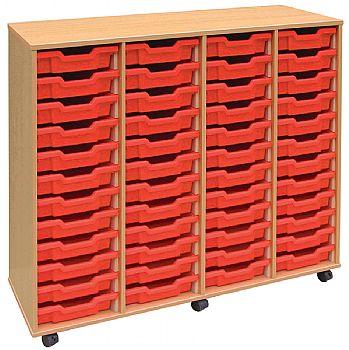 4store 48 Tray Shallow Storage Unit