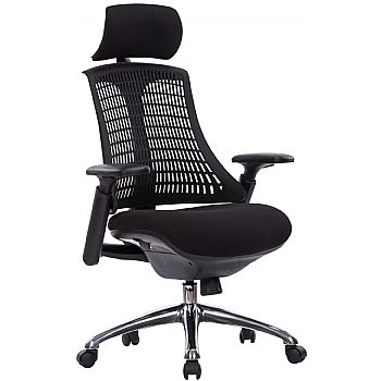 Flash Ergonomic Task Chair With Headrest £174 -