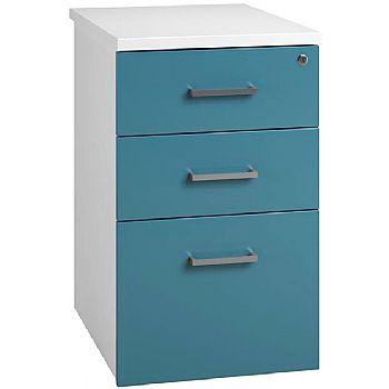 NEXT DAY Kaleidoscope Desk High Pedestal - Blue
