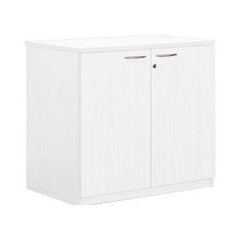 Next Day Vogue White Desk High Cupboards £162 -