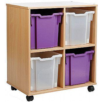 Storage Allsorts 4 Jumbo Tray Unit