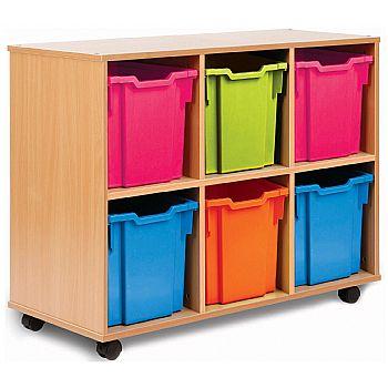 Storage Allsorts 6 Jumbo Tray Unit