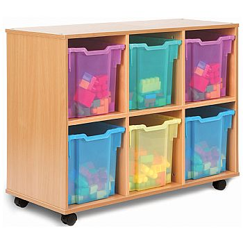 Storage Allsorts 6 Jumbo Jelly Tray Unit
