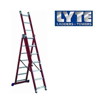 Lyte Glass Fibre Combination Ladders £210 -