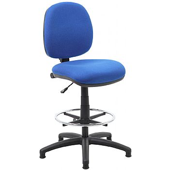 Comfort Fabric Draughtsman Chairs £85 -