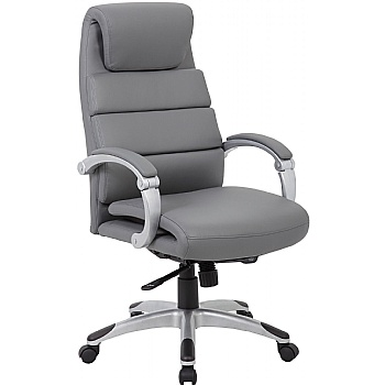Esna Synchronous Bonded Leather Manager Chair £139 -