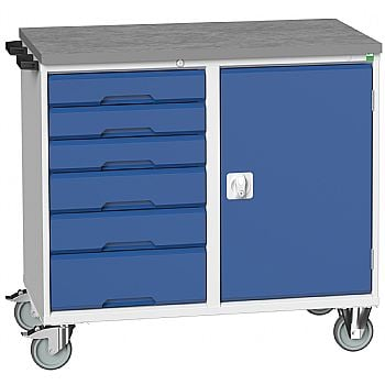 Bott Verso Mobile Maintenance Trolley - Cupboard With 6 Drawers £703 -