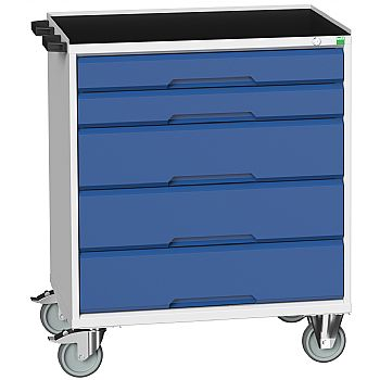 Bott Verso Mobile Roller Cabinets 800W - 5 Drawers £571 -