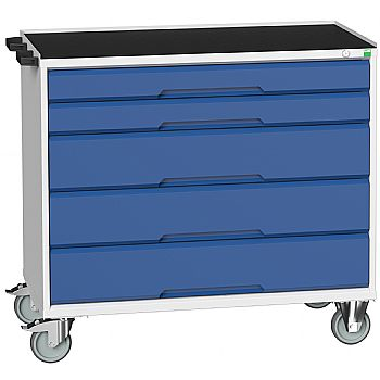 Bott Verso Mobile Roller Cabinets 1050W - 5 Drawers £628 -